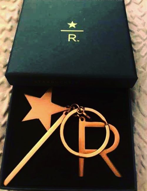 Seattle Rose Gold Reserve Key Chain