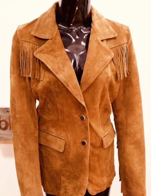Camel Brown Leather Jacket
