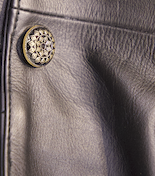 Leather Coat Button